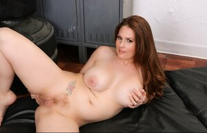 35-year-old appetizing female banged by new handsome coach in the locker room